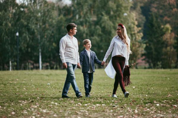семейные фотографии в Казанском Парке Горького