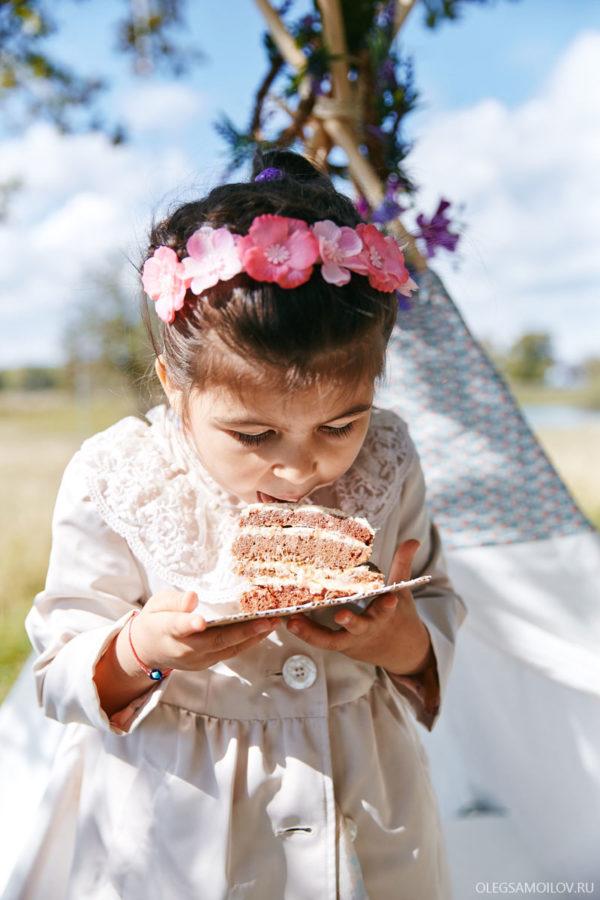 детская фотосессия на природе - Казань