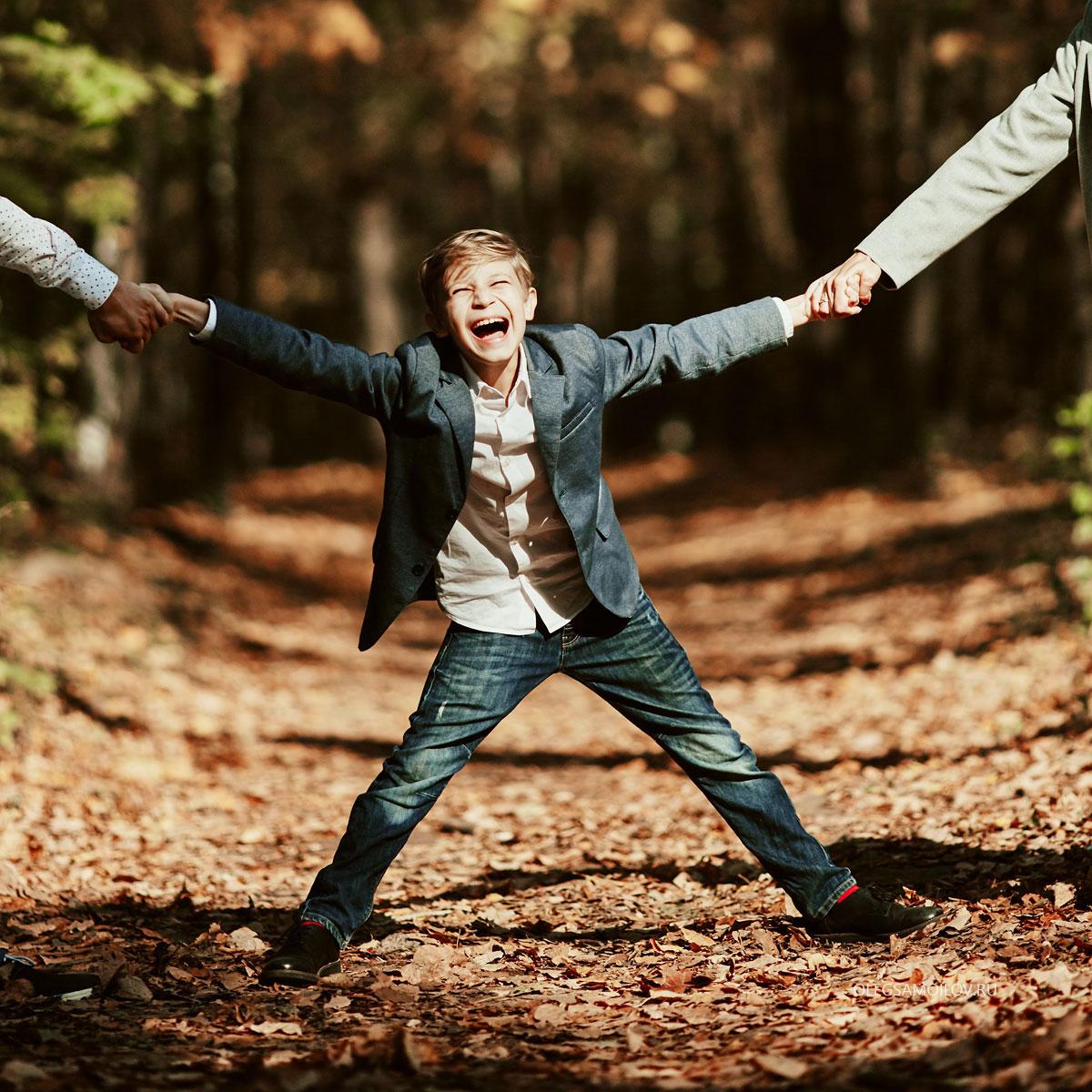 Фотосессия осенью с семьей, что может быть лучше?