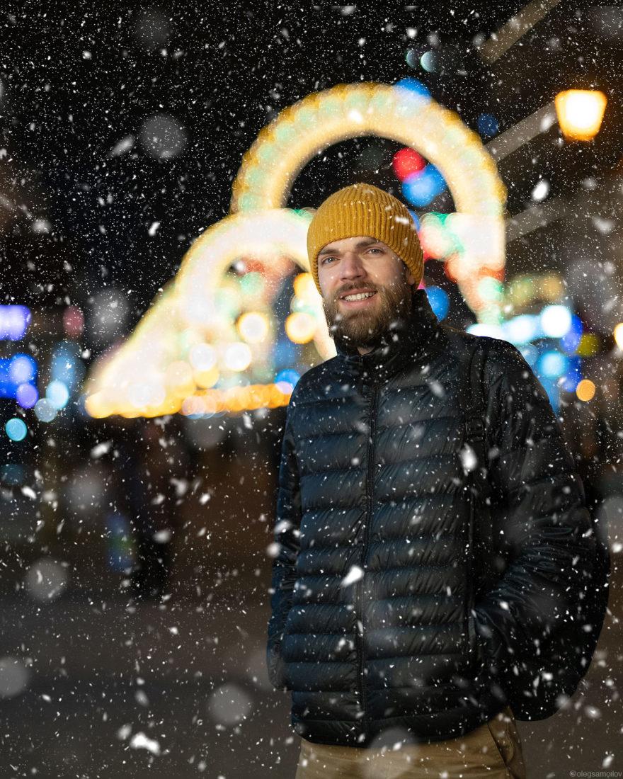Новогодний фотопроект, где главными героями стали блогеры